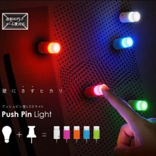 Creative factory direct sales of the head nail series of fingertips lights