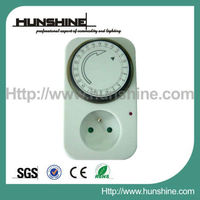 french type mechanical light timer control switch