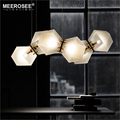 MEEROSEE Pendant Light Fancy Creative DNA Shade Hanging Lamp Glass Pendant Lighting for Coffee Shop Bar Decoration MD85530