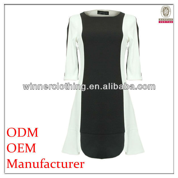 half sleeve fitness new model dress for ladies