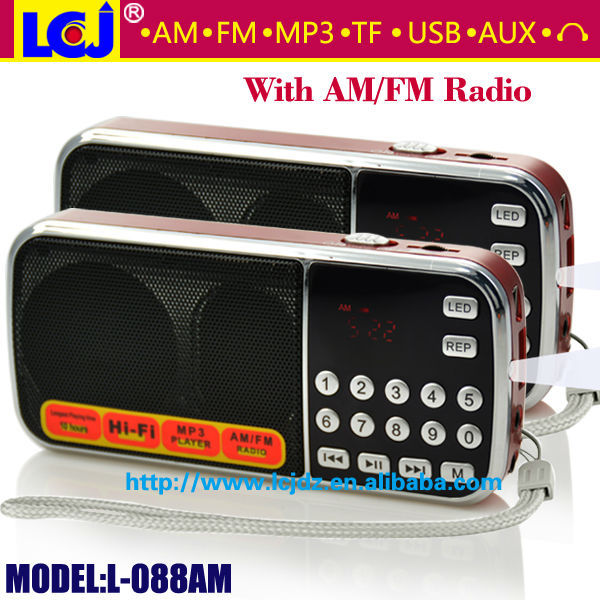 L-088AM best selling model bass audio box speaker