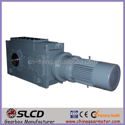 BC3-08 right angle helical gear vertical shaft high ratio reducer for mill machine