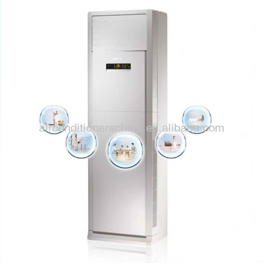 Fresh wind floor standing air conditioner for Asia