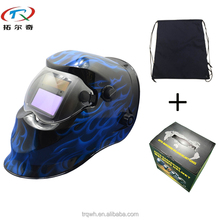 New arrival cheap price pancake welding helmets lithium battery darkening cool decals welding helmet