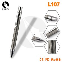 Shibell 2015 Luxury stainless steel wire braided metal pen /metal ballpoint pen