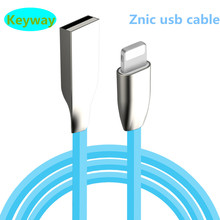 Factory price 3D Zinc Alloy Head Candy Color magnetic ast Charging Data Sync usb phone cable for ipad mini smart phone
