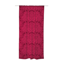 Wholesale smart home decor Indian round window jacquard curtain