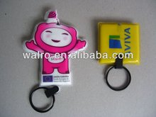 promotion PVC LED keychain gifts