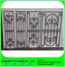 wrought iron home window design grills with glass insert