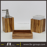 BX Group 3pcs Cheap Natural Bamboo