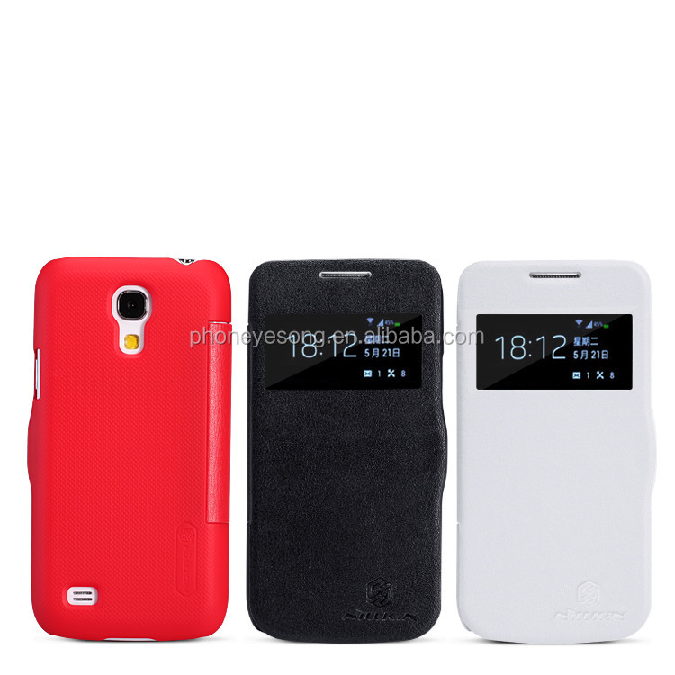 for samsung galaxy s4 mini flip leather case