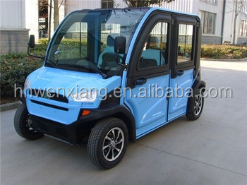 Chinese manufacturing electric car / china newly electric golf car in pakistan / electric car with eec