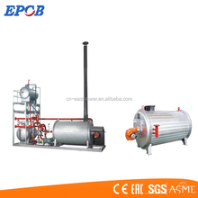 Horizontal Skid Mounted Gas Fired Hot Oil Boiler On sale