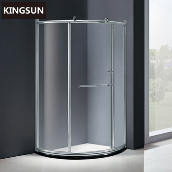 6mm Tempered Glass Shower Stalls Simple Shower Room without tray K-7900