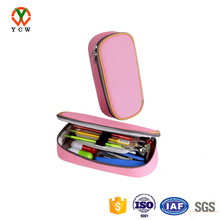 Pink Pencil Case Canvas Bag Stationery Cosmetic Makeup Bag