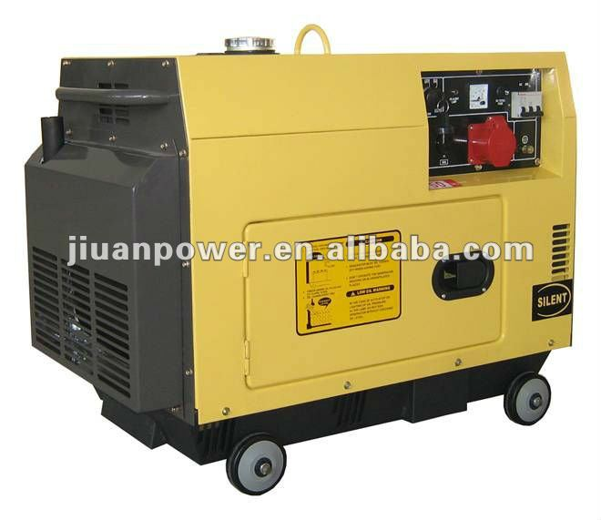 Guangzhou generator factory!!!5kw diesel generator set powered by Yanman engine