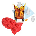 Hot Summer Drink Party Ice Tray Cool Atomic Bomb Shape Ice Cube Freeze Maker Ice Mould