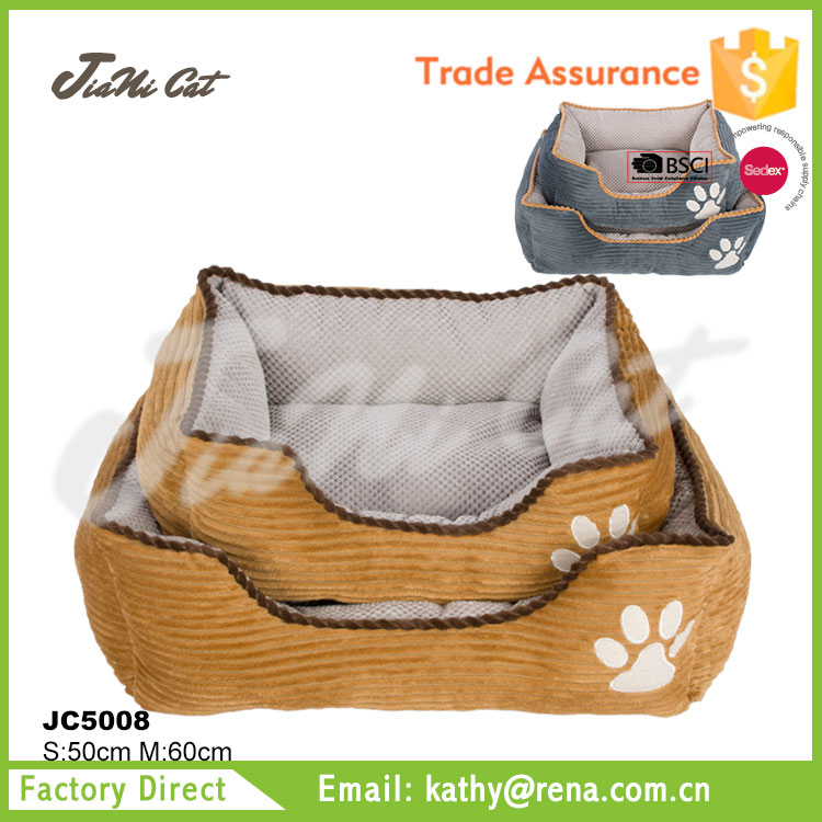 hot sale ,corduroy,dog sofa,dog bed