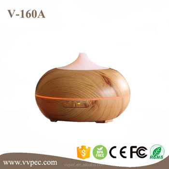 High quality CE Ultrasonic Aroma Mist Diffuser with wood grain