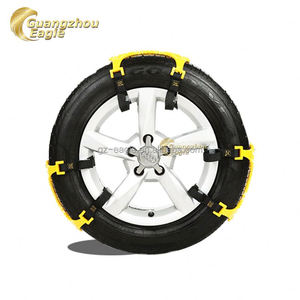 Tpu Snow Tyre Car Skid Polyurethane Snow Chains for Protect the car