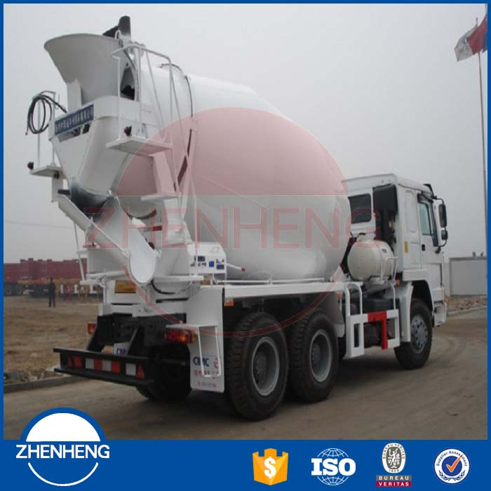 Self Loading Movable Mix Concrete Truck Concrete Mixer Concrete Truck Mixer