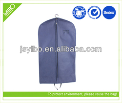 Customized reusable non woven/pvc/peva bags trolley case suit case