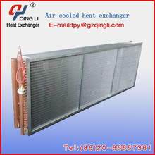 Air cooler chilled water cooling coil