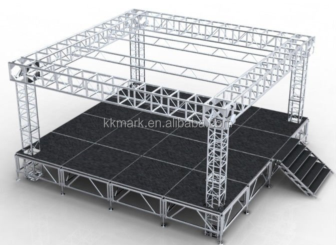 dj truss system/famous truss bridges/circle truss for sale