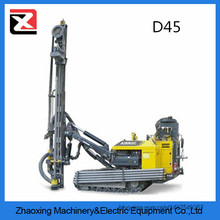 Atlas D45 cralwer Hydraulic rotary dth man portable drilling rig for sale