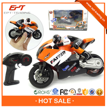 Crazy selling kid 1 10 scale 4CH rc motorcycle for sale