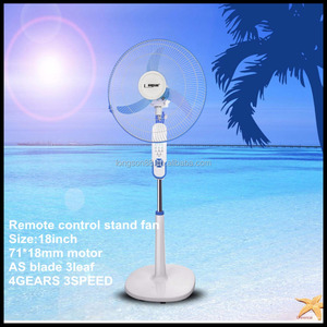 18inch 220V electric fan wholesale stand fan specs electric pedestal fan