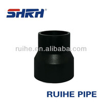 quick shaft pe pipe reducing coupling
