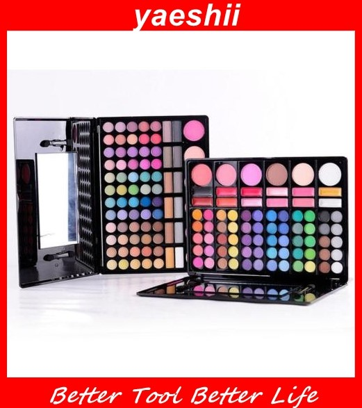 YAESHII 78 colors Eyeshadow Palette bling your <strong>eyes</strong>