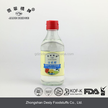 Troditional Chinese White Rice Vinegar for Dish