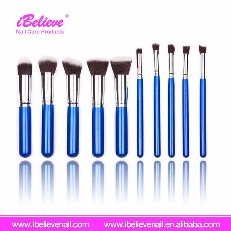 New Design 5pcs Colorful Thread Personal Makeup Brushes with Box