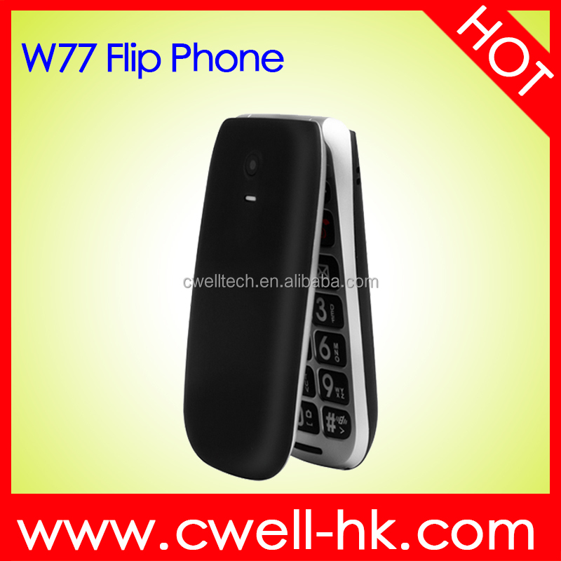 Dula SIM 2.2 Inch Big Button Flip Style PS-W77 Senior Cell Phone