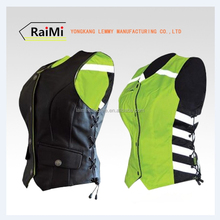 Women's Reversible Motorcycle Reflective Safety Vest for 2015 Sporty