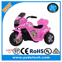 Children Ride on Motorcycle 6V Battery Powered Electric Race And Police ride on motorcycle