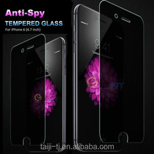 Mobile screen protector, 2.5D & 3D Curved Anti spy & privacy tempered aluminosilicate glass screen protector for iPhone 8/8 Plus