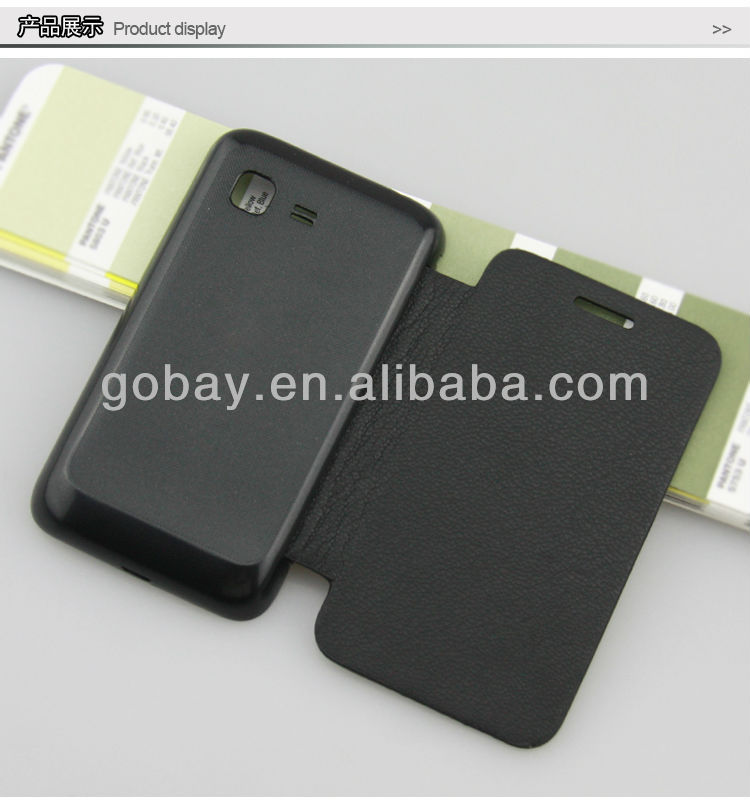 Flip cover for Samsung Star 3 Duos S5222 mobile phone case from China Manufacturer