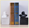 Custom popular items home decor resin baby angel statue bookends manufacturer