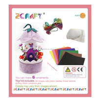 Strict Quality Checks handmade felt Dreamy hut music box felt DIY kits popular toys