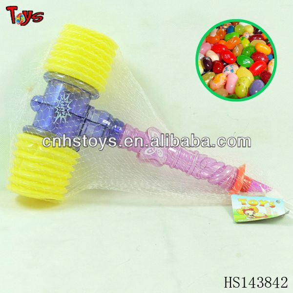 Christmas hammer flashlight toy candy