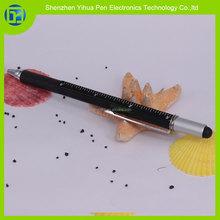 2015 new products Multifunction touch stylus pen,aluminium stylus ball pen for promotional
