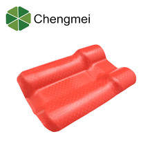 Pvc Recyclable Flexible Corrugated plastic roofing material