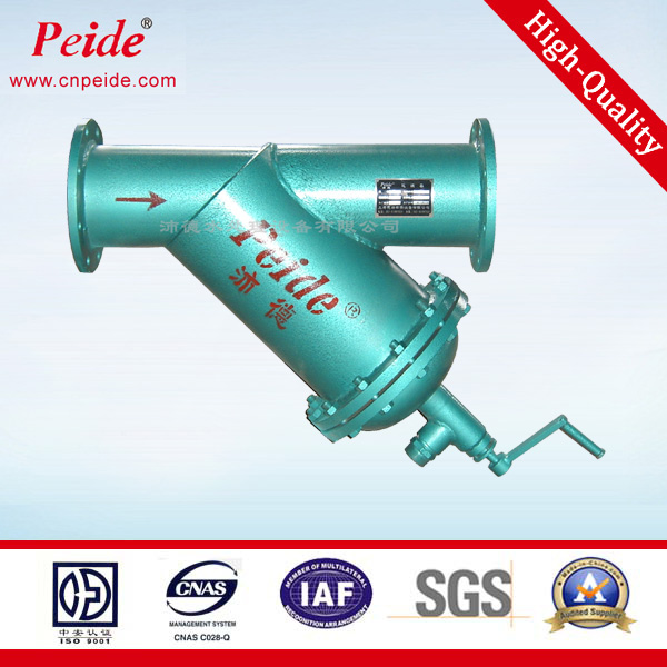Heavy metal removal water filter / pipeline non electric water filter