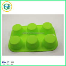 6pcs round silicone baking cups