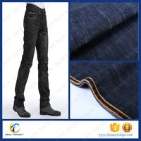 business style before wash satin denim fabric for jacket