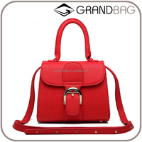 Wholesale Guangzhou Cheap PU Leather Mini Ladies Handbag Fashion Women Shoulder Bag