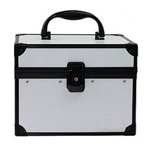 Top quality pvc makeup boxes aluminum storage box RZ-SC-131